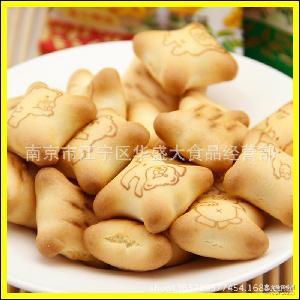 供应 4口味特价一箱6斤 马来西亚 EGO金小熊灌心饼干 夹心饼干