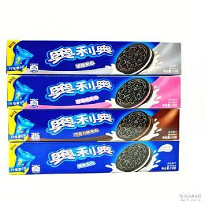 热销推荐 奥利奥饼干116g*24夹心饼干休闲零食采购批发