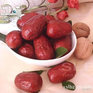 新疆和田特级红枣10KG箱装玉枣批发 散装干果休闲食品 厂家直销