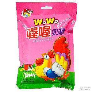 批发零售 婚庆喜糖 上海*正品喔喔奶糖150克怀旧零食
