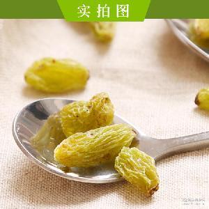 食同源吐鲁番葡萄干 吐鲁番树上黄厂价批发 新疆特产休闲零食