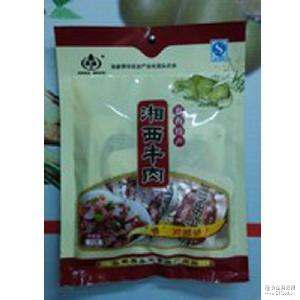 湖南张家界特产零食牛肉独立包装香辣熟食小吃精选新鲜湘西黄牛肉