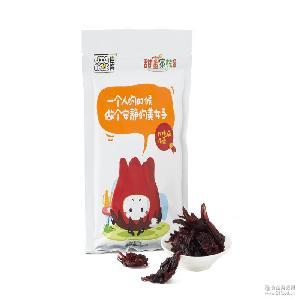 玫瑰茄花蕾蜜饯 一件代发 佳梅 潮州特产 甜蜜家族袋装 休闲零食