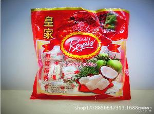 进口新款包装食品/*酥糖越南*排糖椰蓉奶油酥球300克喜糖