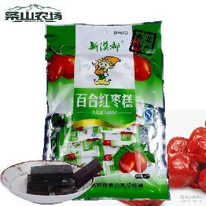 西北特产180g/袋 小吃零食休闲食品 酸酸甜甜 百合红枣糕