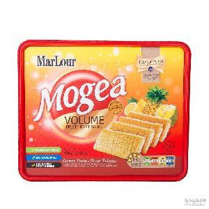 进口休闲零食批发 摩洛卡综合酱心卷饼干 独立小包装喜庆婚庆送礼
