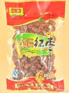 休闲零食小吃 一件代发 坚果炒货 达源220克袋装新疆红枣干 批发
