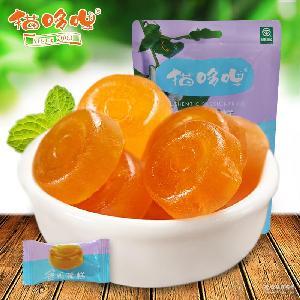 猫哆哩 蜜饯 80G西番莲果派 酸甜可口 特产休闲食品