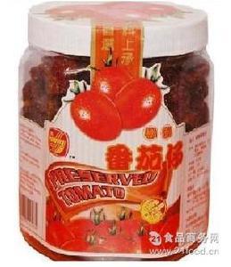 马来西亚富达凉果番茄仔400g*15罐/箱 进口食品蜜饯批发