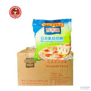 马苏拉丝芝士碎 披萨焗饭烘焙材料 百吉福马苏里拉奶酪碎3kg
