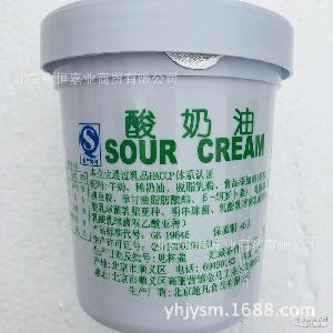 西餐烘焙原料批发 发酵型稀奶油420g 超凡福多牌酸奶油酸乳酪
