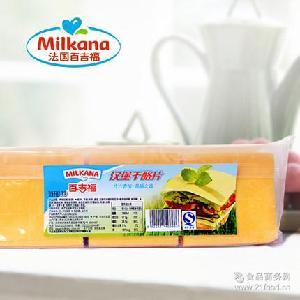 质量保证 烘焙原料 干酪乳制品 面包 【百吉福】高品质汉堡芝士片
