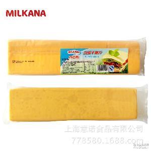 西餐 80片960g(黄色,白色) 法国百吉福芝士片