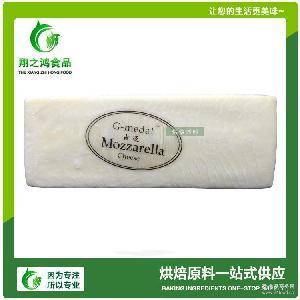 美国原装进口烘焙原料吉迈马苏里拉芝士2.8kg/条披萨拉丝奶油奶酪