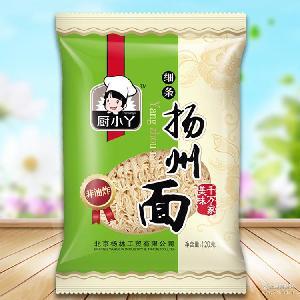 厨小丫非油炸扬州面120g*30袋挂面易煮速食方便面条厂家直销