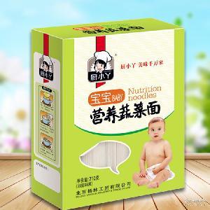 厨小丫挂面宝宝面婴幼儿面条宝宝辅食儿童营养面210g*20/袋
