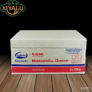 披萨专用奶酪cheese 新西兰NZMP马苏里拉芝士 安佳奶酪20kg/箱