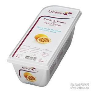 宝茸 法国Boiron 西潘莲果泥 百香果 1kg盒 热情果 果蓉
