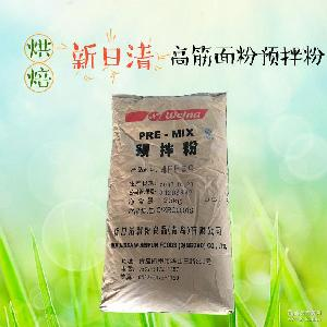 新日清4FFSQ高筋面包粉饺子粉25kg烘培原料食品批发
