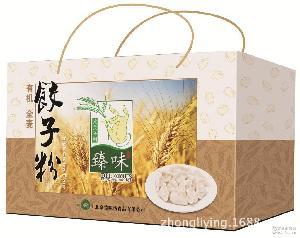 有机面粉 臻味有机全麦饺子粉礼盒