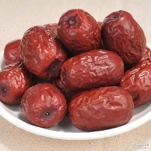 红枣供应 休闲食品批发 新疆若羌灰枣二级枣500g散装干果