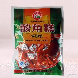 云南特产休闲食品零食蜜饯 酸角糕250克袋装 批发 工厂货源