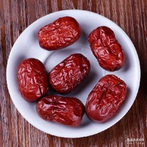 红枣批发 2.5kg 香脆若羌枣大红枣新疆若羌灰枣红枣干散装发免洗