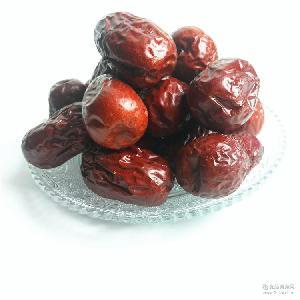 新疆和田玉枣500g袋包装特产零食品大红枣子一级 厂家供应