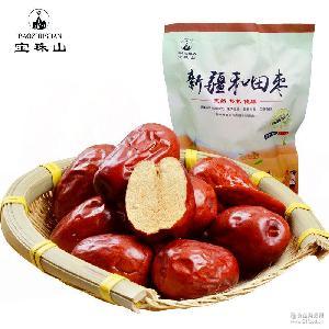 干果炒货零食一件代发 大枣子红枣袋装 新疆和田大骏枣300g