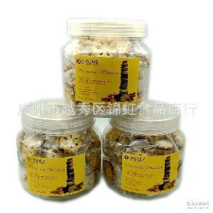 批发供应泰国进口 250g规格12瓶/箱 VFOODS牌菠萝夹心饼干