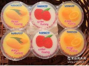 泰国原装进口NANACO多种口味组合装果冻办公室美味零食480g