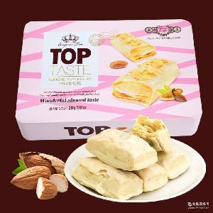饼干 厂家直销 巴旦木松塔巧克力盒装办公室休闲小零食巴旦木松塔