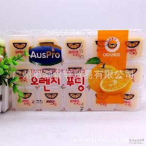 1*20包 批发供应韩国进口果冻奥特多布丁香橙味480g