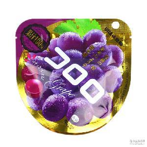 QQ糖40g  果汁究极葡萄软糖 悠哈创意糖果 日本跨境零食店 UHA