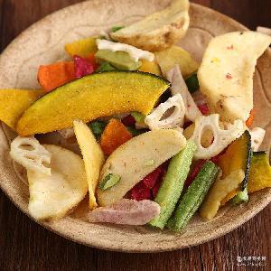 现货批发优质果蔬脆炒货罐装制品原味综合蔬果干罐装美味零食