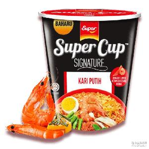 原装进口马来西亚 超级牌Super杯面方便面即食面