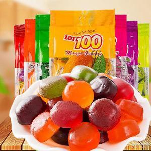 马来西亚进口软糖100份果汁软糖一百份多口味结婚喜糖150g伴手礼