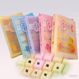 韩国进口果冻 480g*20盒 美乐津优酪果冻 大优果冻3味可选批发