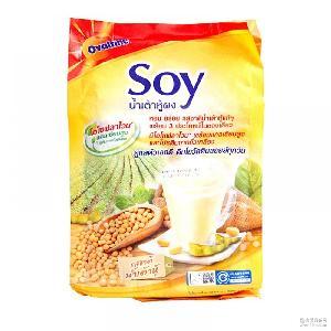 泰国阿华田速溶豆浆粉420g(30g*14条)*12袋/箱量大另议