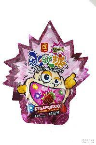 进口马来西亚阿曼达跳跳糖草莓可乐橙子葡萄西瓜苹果水蜜桃儿童
