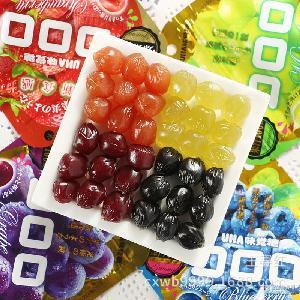 4味选40g QQ水果糖味 悠哈UHA味觉糖 *果汁软糖 日本进口