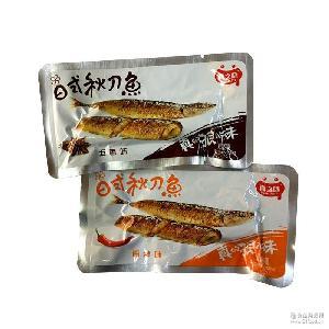 五香/香辣味 秋刀鱼 5斤一袋 批发 真之味沙丁鱼