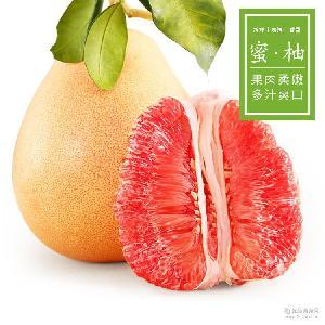 【三宝蜜柚】平和三红蜜柚1个约800g/个 农家新鲜水果 柚子