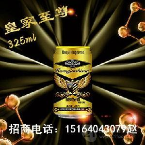 简装夜场易拉罐啤酒低价代理/山东厂家直销