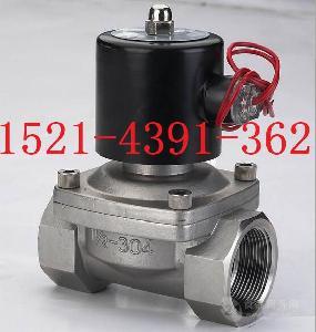 2W200-20B不锈钢水用电磁阀6分DN20 AC220V