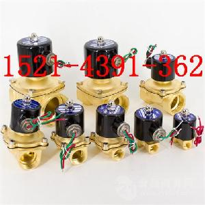 2W025-062W-040-10B黄铜二位二通水用电磁阀AC220V