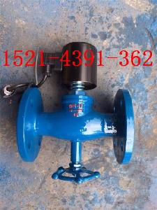 ZQDF-16C/P带手动铸钢法兰水/蒸汽/油用电磁阀DN25-50