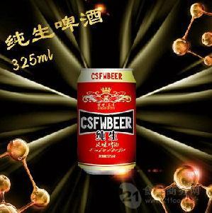 纯生易拉罐啤酒招商|青岛青轩大瓶啤酒代理