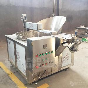 优品自动控温炸锅 蔬菜专用油炸锅设备 小型电加热油炸锅