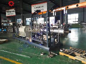养殖鱼浮水饲料生产线 膨化鱼饲料生产设备